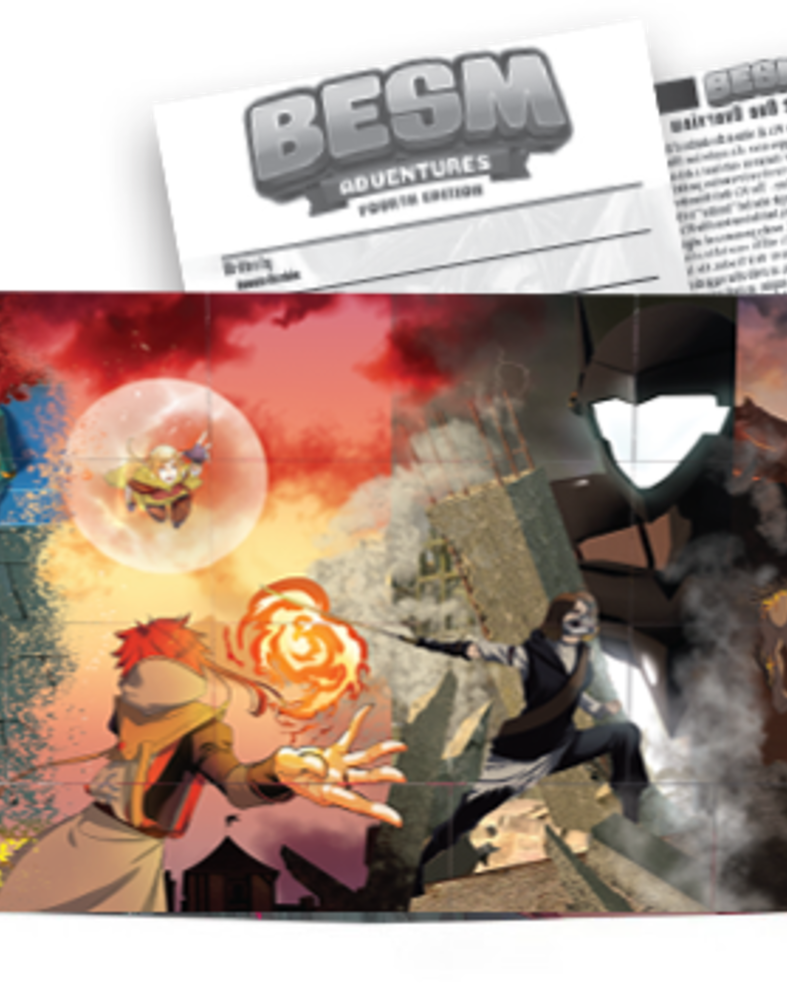 Japanime Games BESM 4th Ed: GM Screen and Adventure