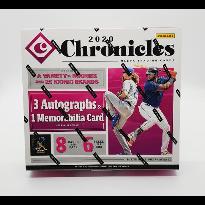 2020 Panini Chronicles Baseball Hobby Box
