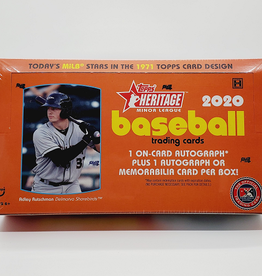 Topps 2020 Topps Heritage Minor League Baseball Hobby Box