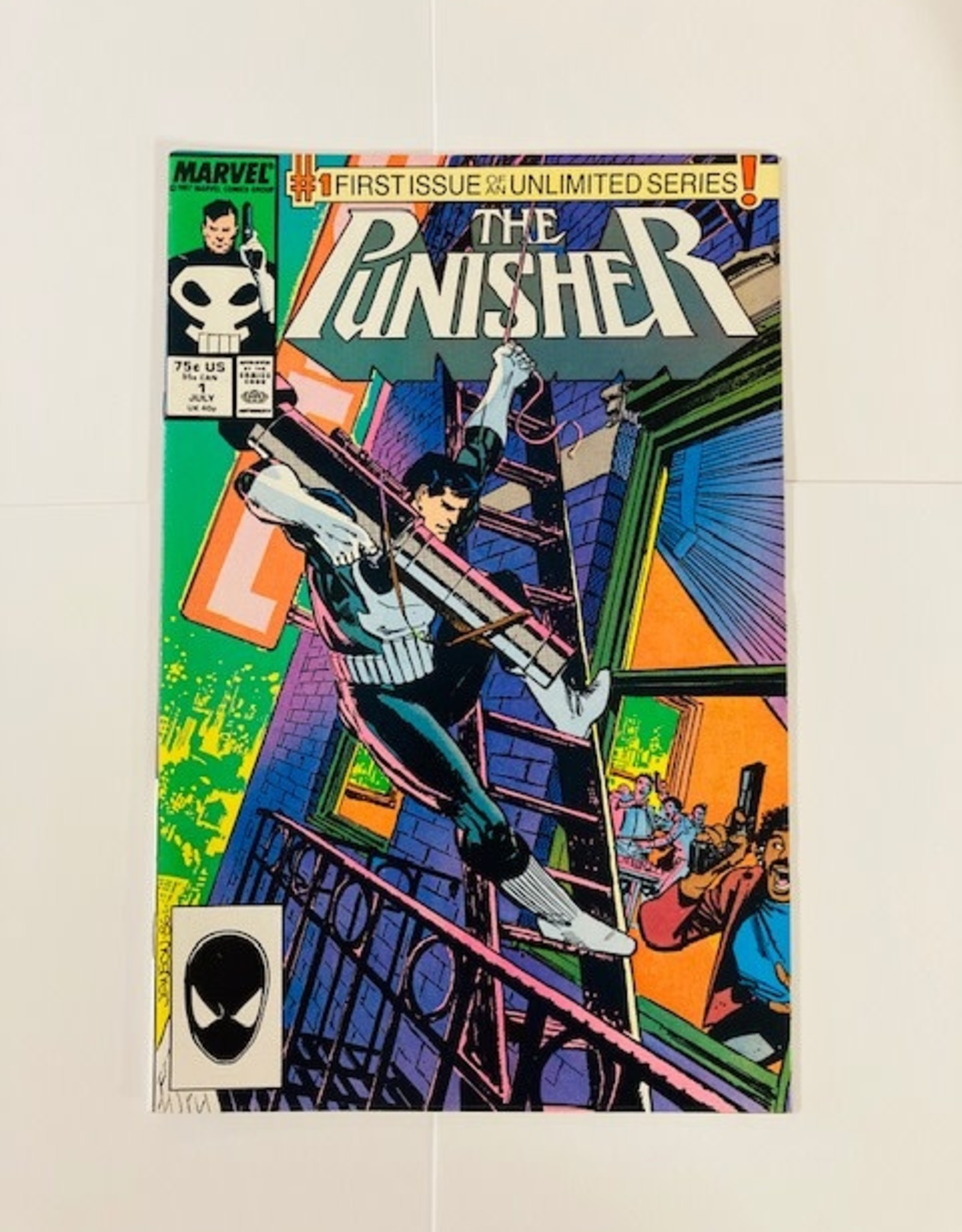 Marvel Comics Punisher #1 (1987)