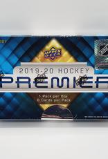 Upper Deck 2019-20 Upper Deck Premier Hockey Hobby Box
