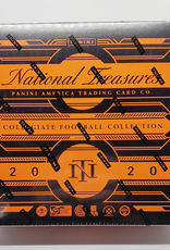 Panini America 2020 Panini National Treasures Collegiate Football Hobby Box