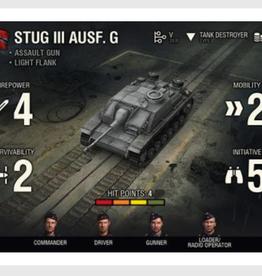 Battlefront Miniatures Ltd World of Tanks Expansion - German (StuG III G)