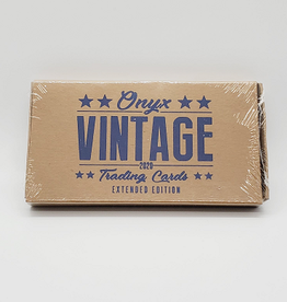 Onyx Authenticated 2020 Onyx Vintage Extended Baseball Hobby Box