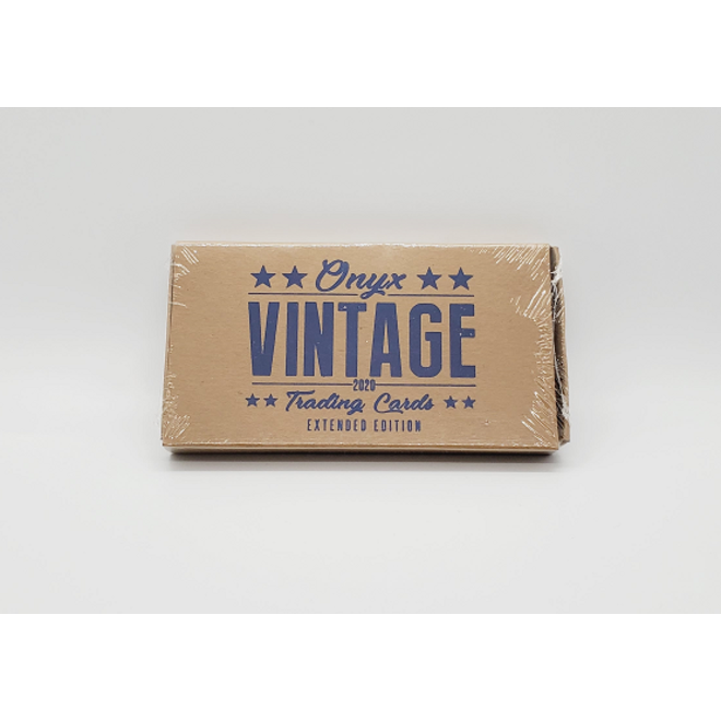 2020 Onyx Vintage Extended Baseball Hobby Box