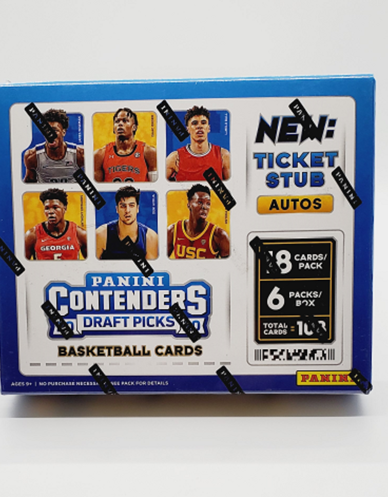 Panini America 2020-21 Panini Contenders Draft Picks Collegiate Basketball Hobby Box