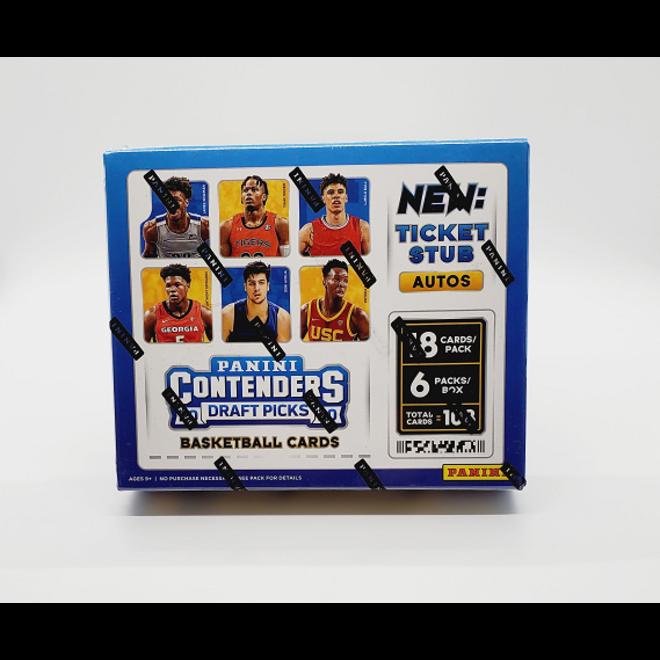 2020-21 Panini Contenders Draft Picks Collegiate Basketball Hobby Box