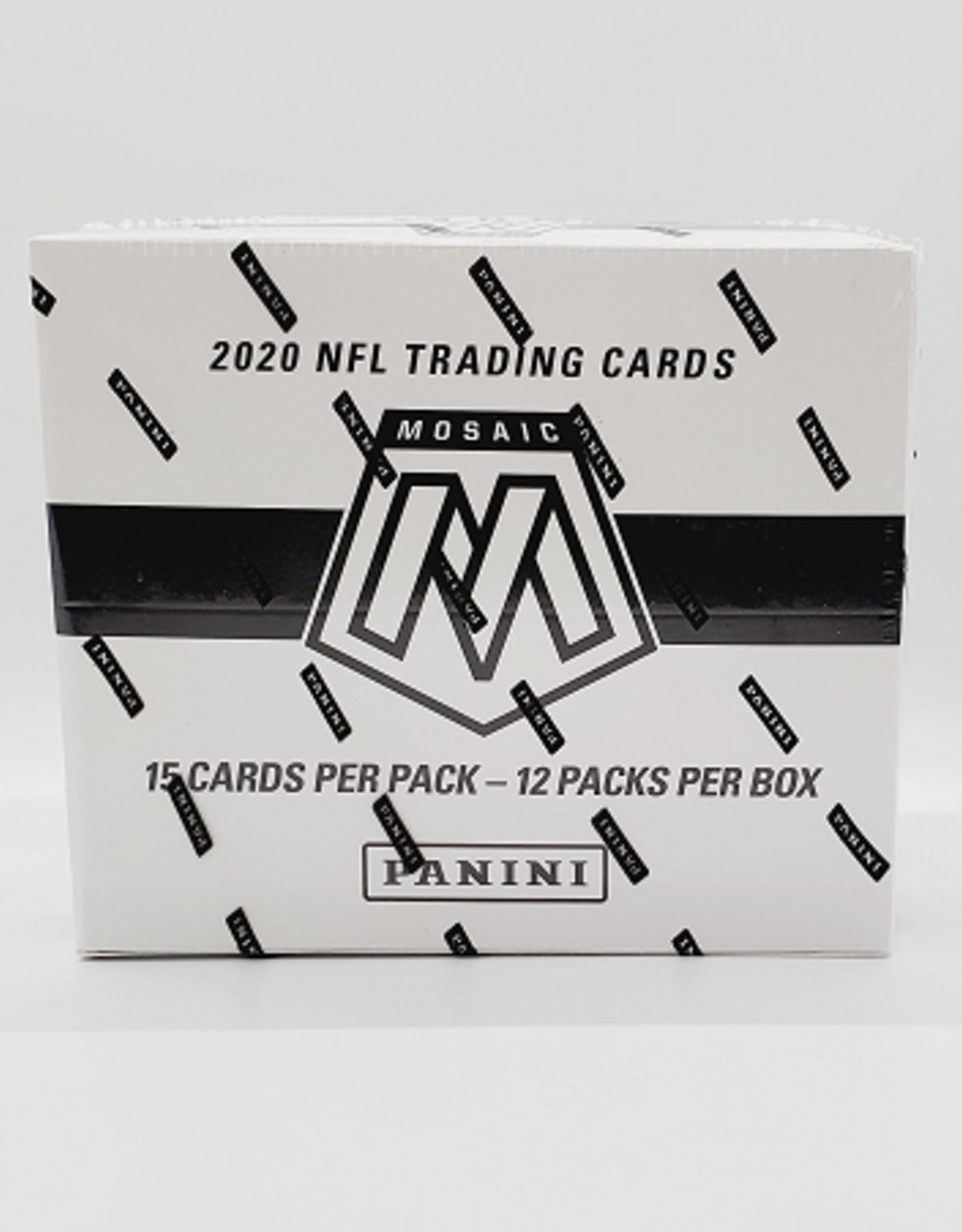 Panini America 2020 Panini Mosaic Football Cellos/Fat Pack Box