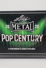 Leaf Trading Cards 2020 Leaf Metal Pop Century Hobby Box