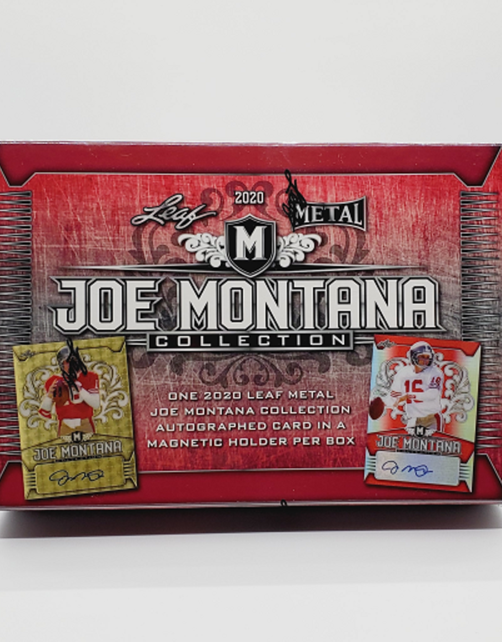 Leaf Trading Cards 2020 Leaf Metal Joe Montana Football Hobby Box