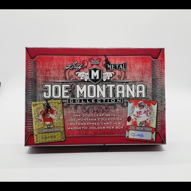 2020 Leaf Metal Joe Montana Football Hobby Box