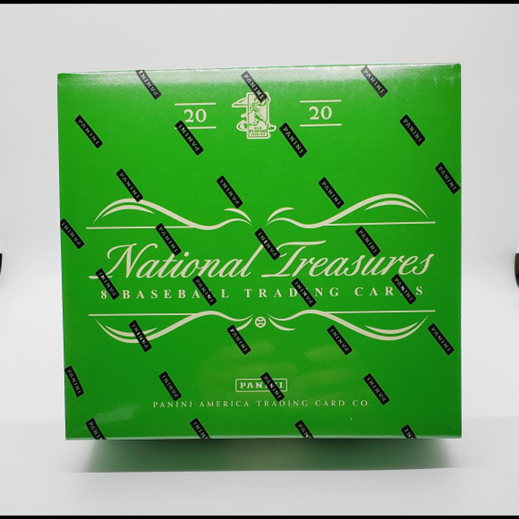 Panini America 2020 Panini National Treasures Baseball Hobby Box