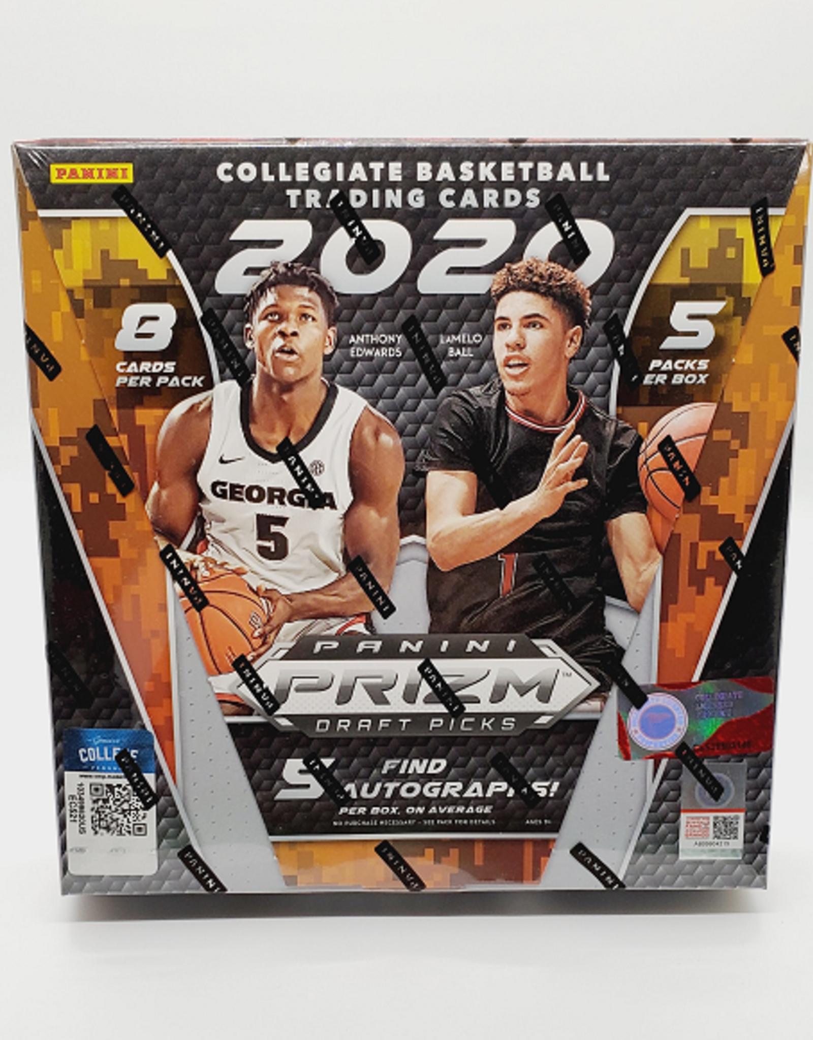 Panini America 2020-21 Panini Prizm Draft Picks Collegiate Basketball Hobby Box