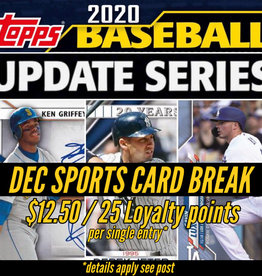 Topps Baseball break 2020 Topps Update Series - 1 Random Team Slot
