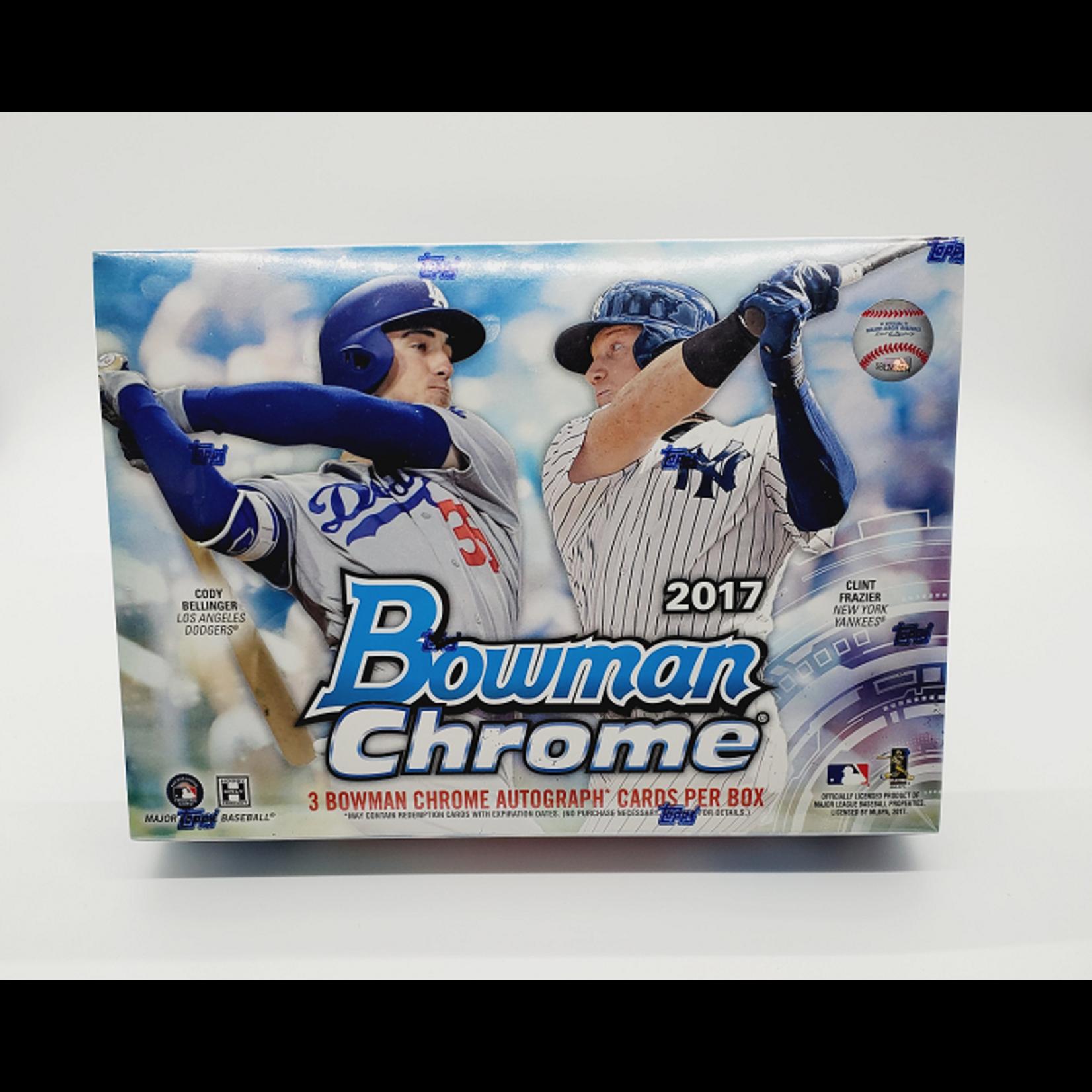 Topps 2017 Bowman Chrome Baseball Hobby HTA Jumbo Box