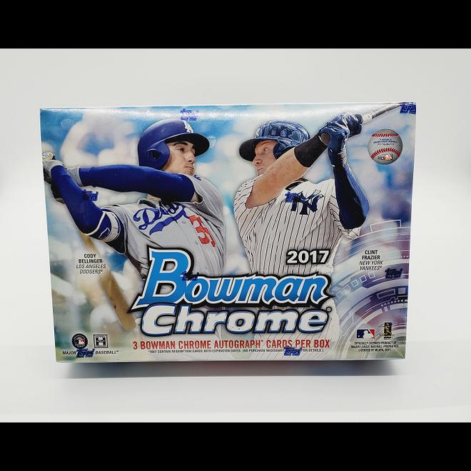 2017 Bowman Chrome Baseball Hobby HTA Jumbo Box