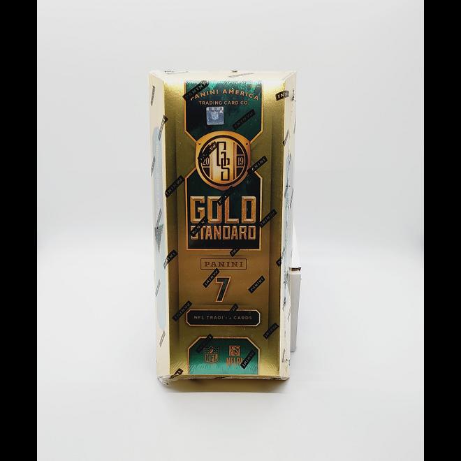2019 Panini Gold Standard Football Hobby Box