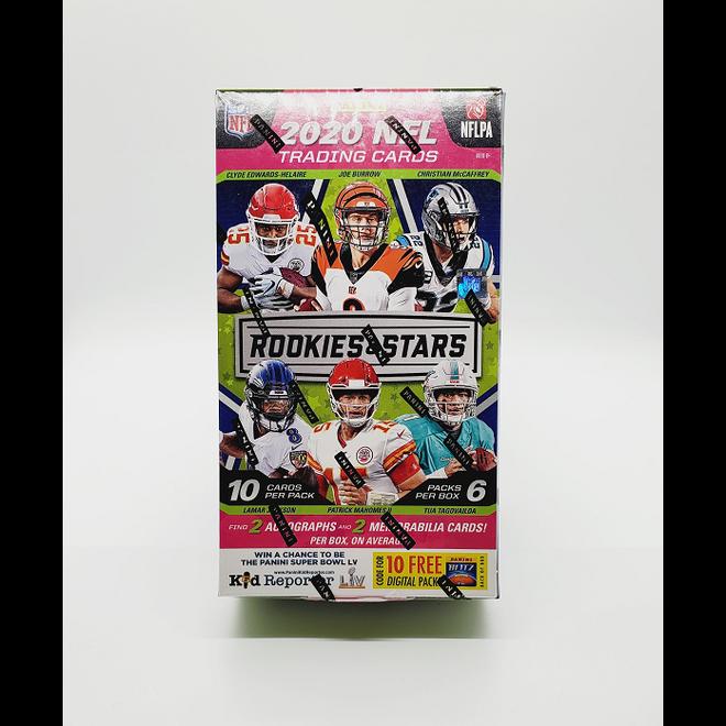 2020 Panini Rookies & Stars Football Hobby Box