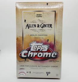 Topps 2020 Topps Allen & Ginter Chrome Baseball Hobby Box