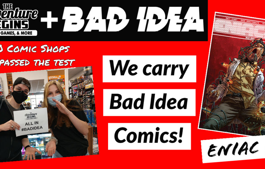 Comics Comics Comics | #BAD IDEA COMICS