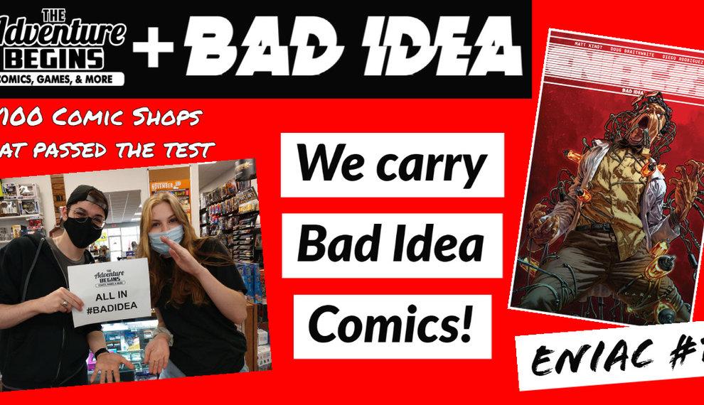Comics Comics Comics | #BAD IDEA COMICS