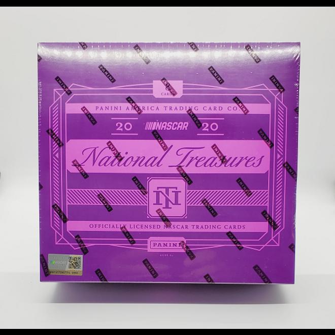 2020 Panini National Treasures Racing Hobby Box