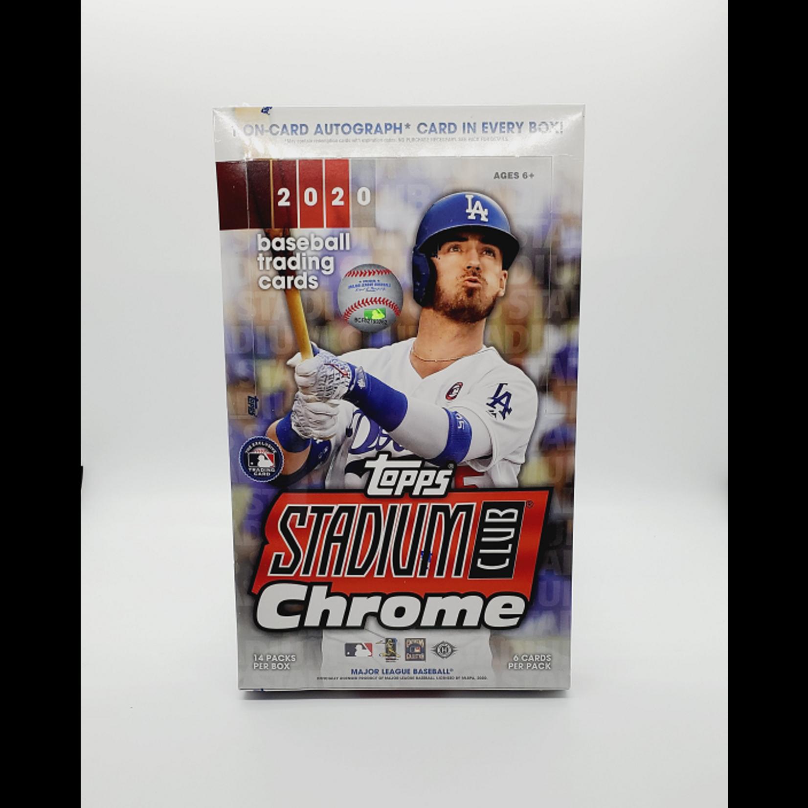 Topps 2020 Topps Stadium Club Chrome Baseball Hobby Box