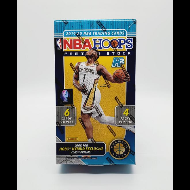 2019-20 Panini Hoops Premium Stock Basketball Hobby Hybrid Box