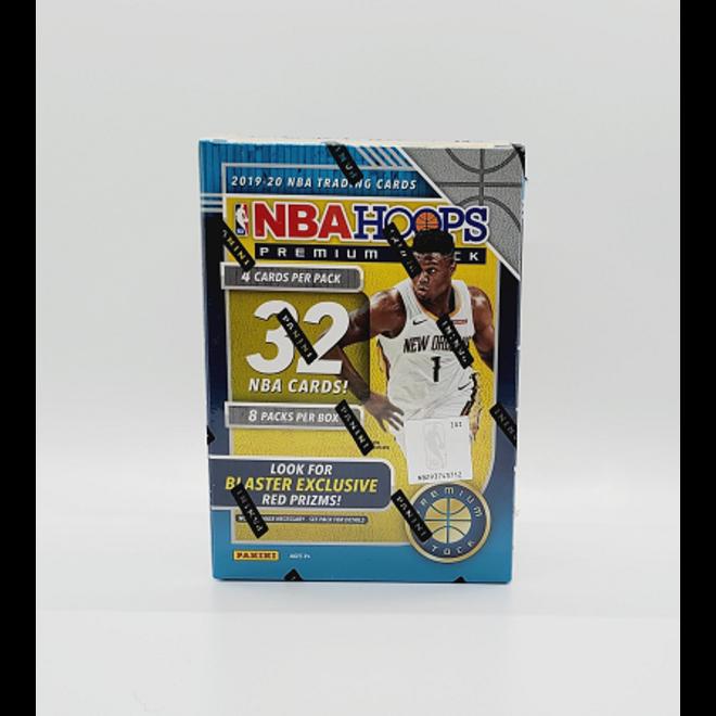 2019-20 Panini Hoops Premium Stock Basketball Blaster Box