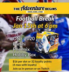 Panini America Football break 2020 Panini Phoenix  - 1 Random Team Slot