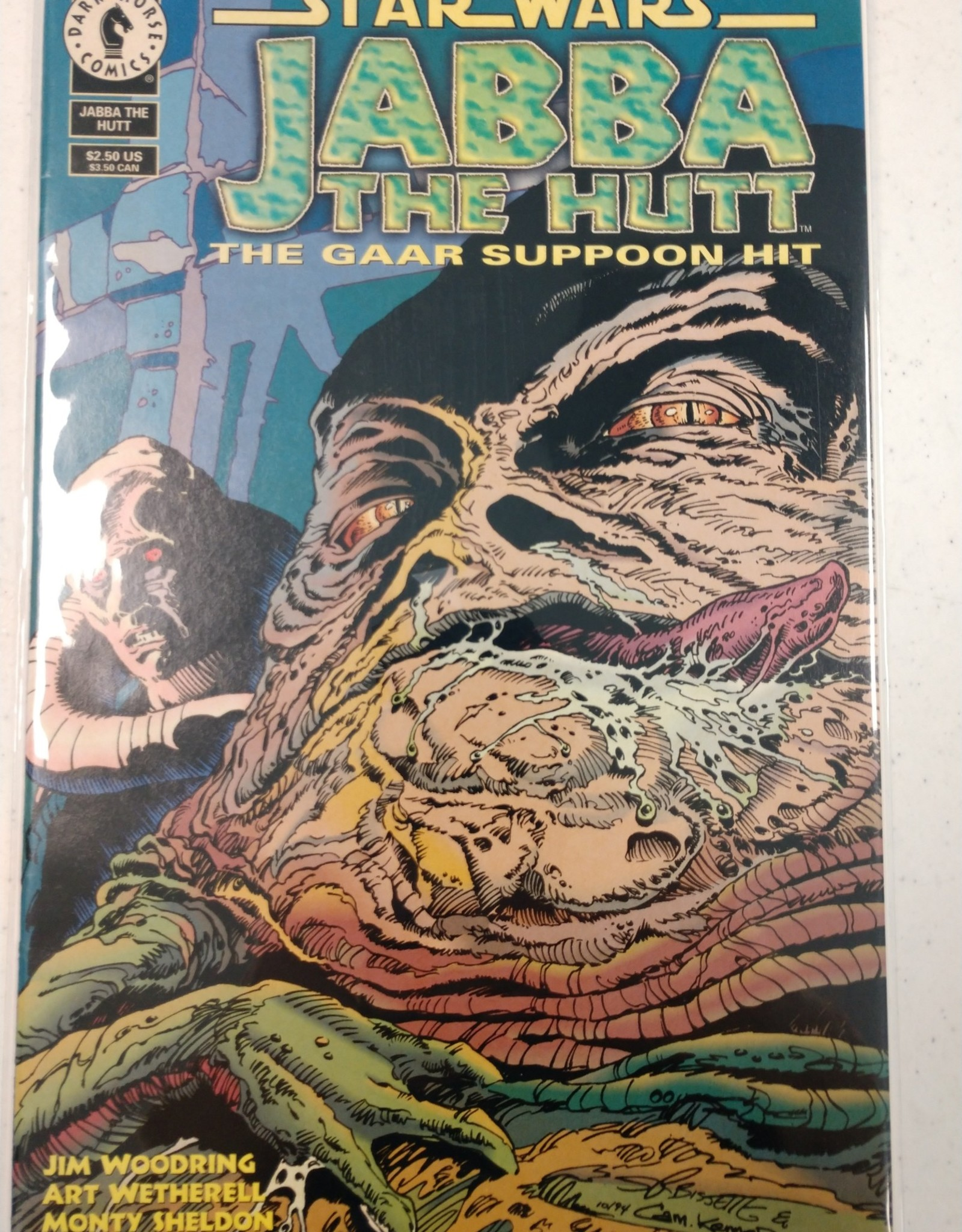 DARK HORSE COMICS Jabba The Hutt The Gaar Suppoon Hit