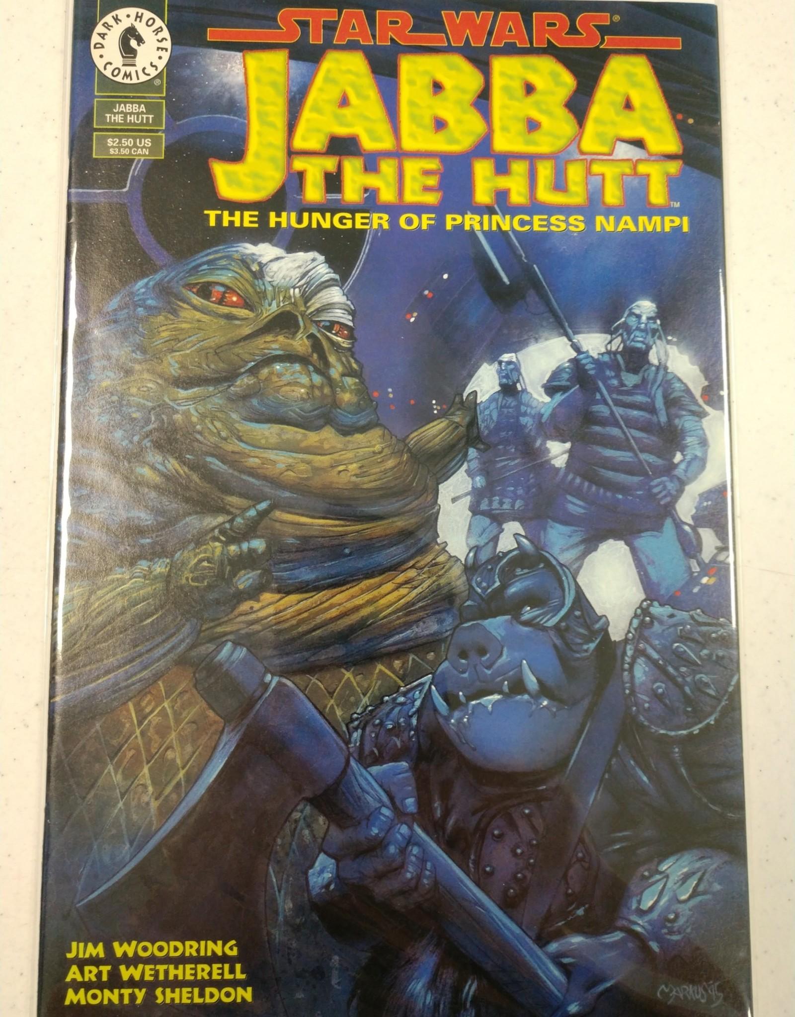 DARK HORSE COMICS Jabba The Hutt The Hunger of Princess Nampi