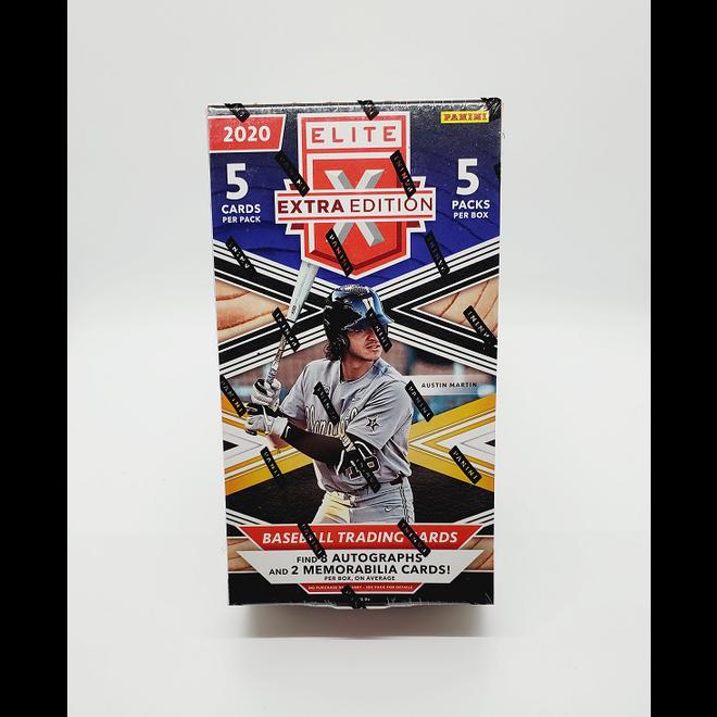 2020 Panini Elite Extra Edition Baseball Hobby Box