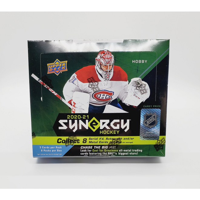 2020-21 Upper Deck Synergy Hockey Hobby Box
