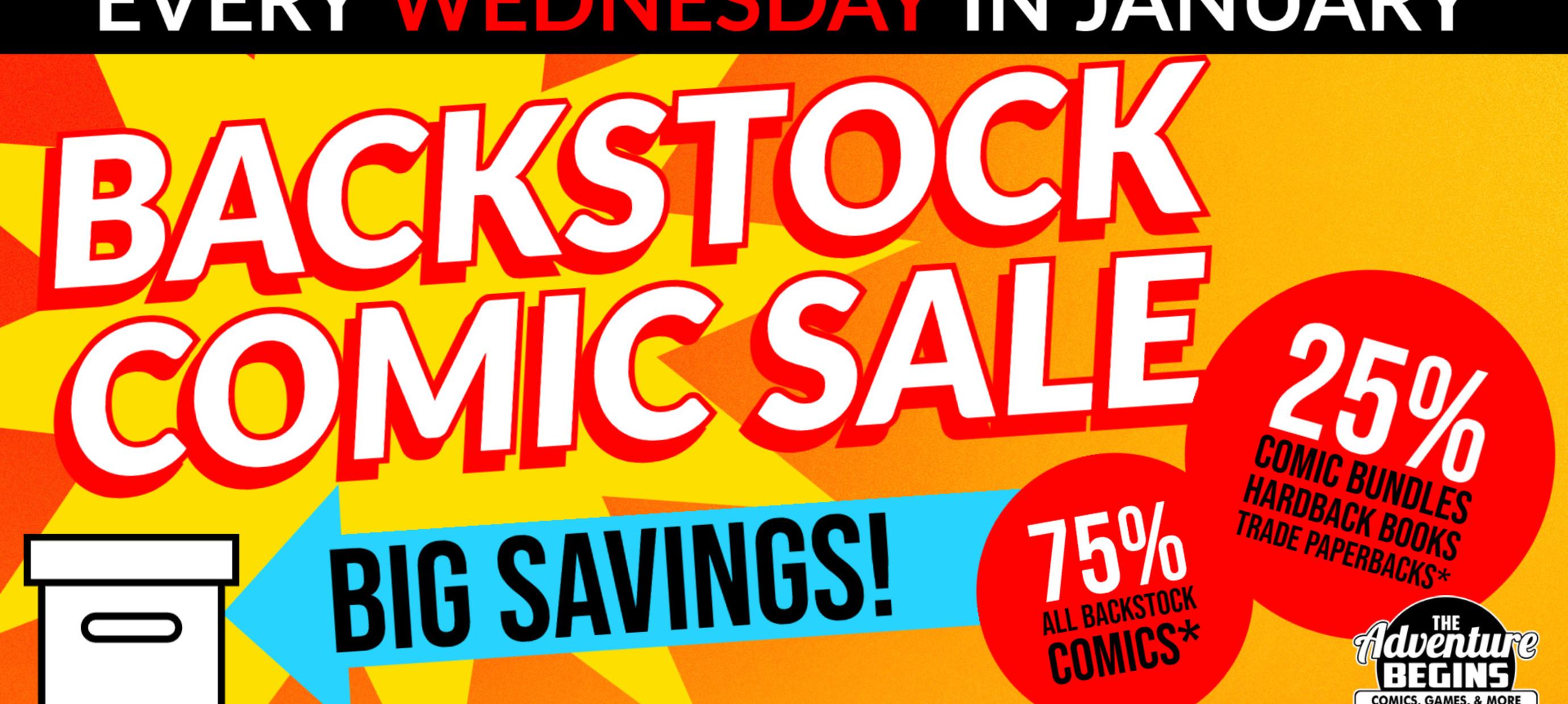 Comics Comics Comics!   Back Stock Comics!