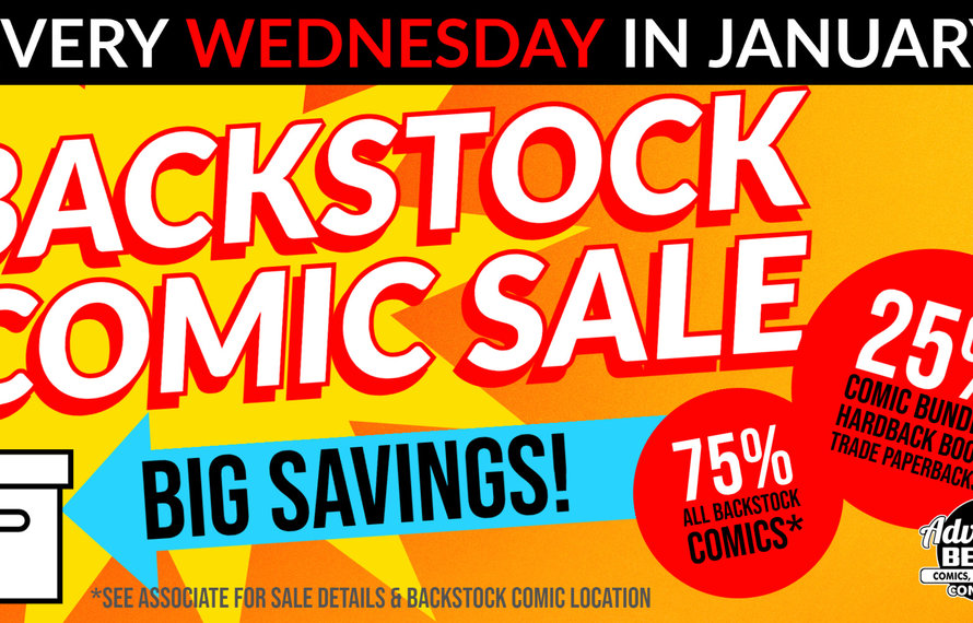 Comics Comics Comics! | Back Stock Comics!