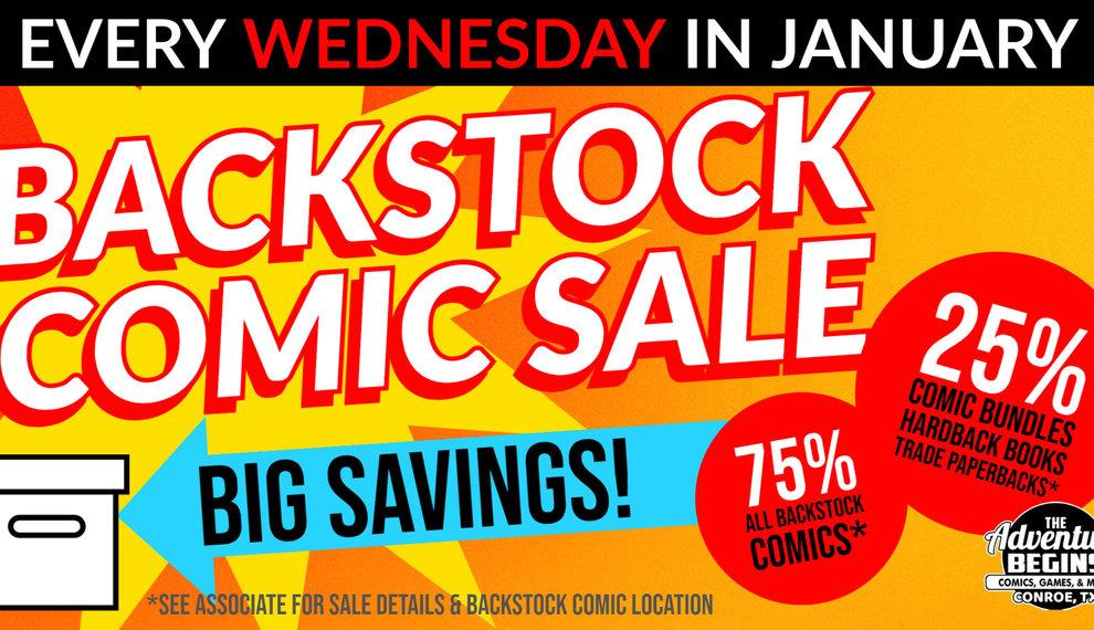 Comics Comics Comics! | Back Stock Comics!