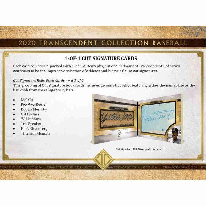 2020 Topps Transcendent Collection Baseball Box