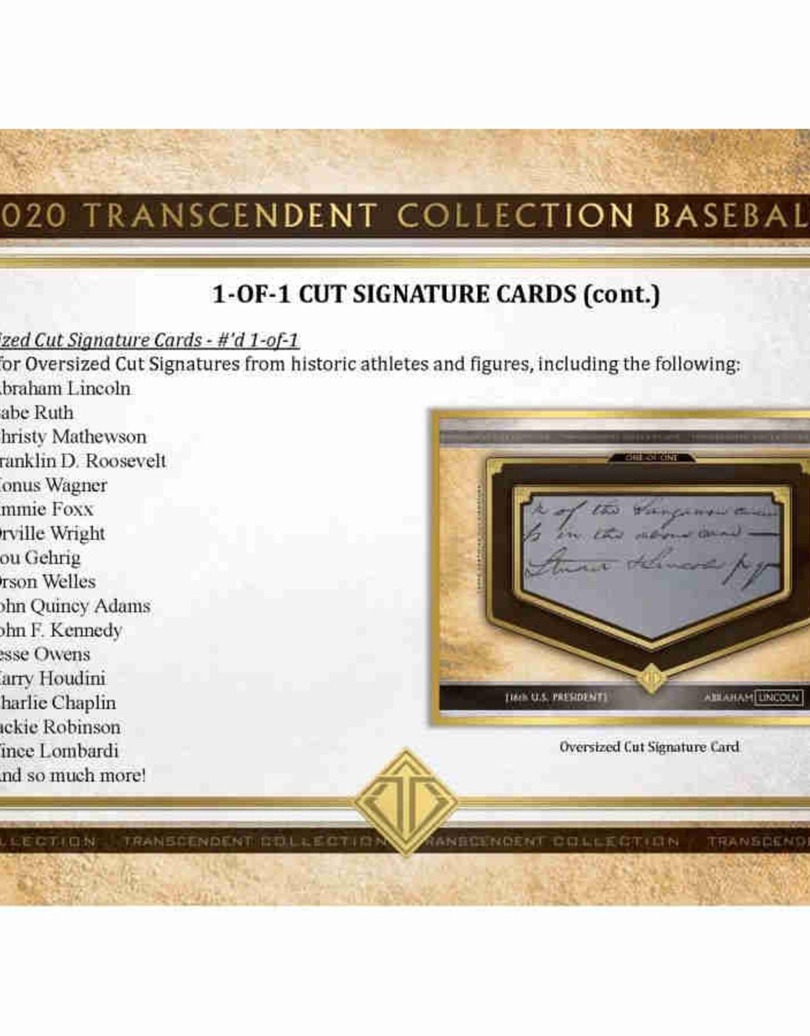 Topps 2020 Topps Transcendent Collection Baseball Box