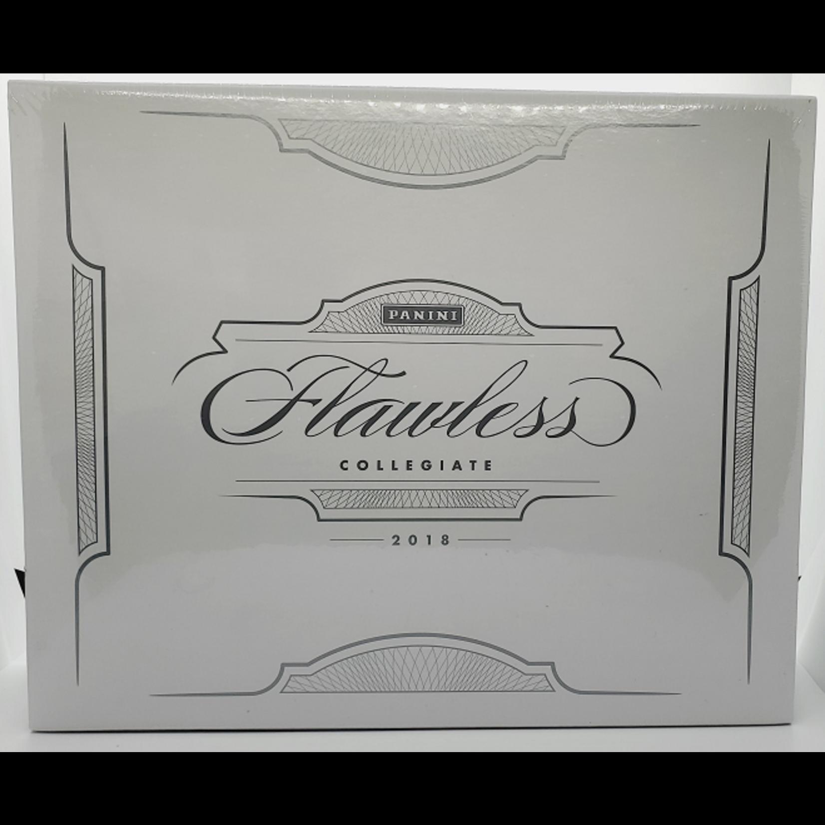 Panini America 2018-19 Panini Flawless Collegiate Basketball Hobby Box