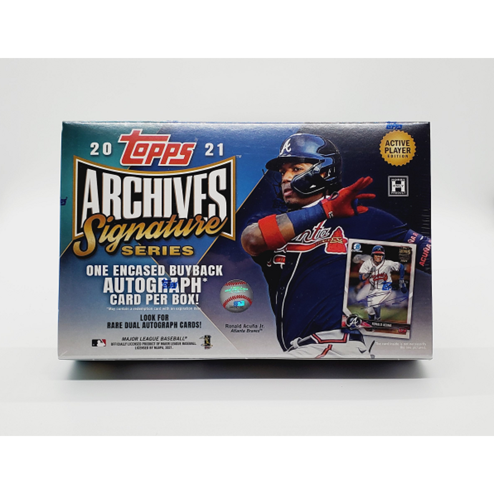 Topps 2021 Topps Archives Signatures Series Baseball - Active Hobby Box