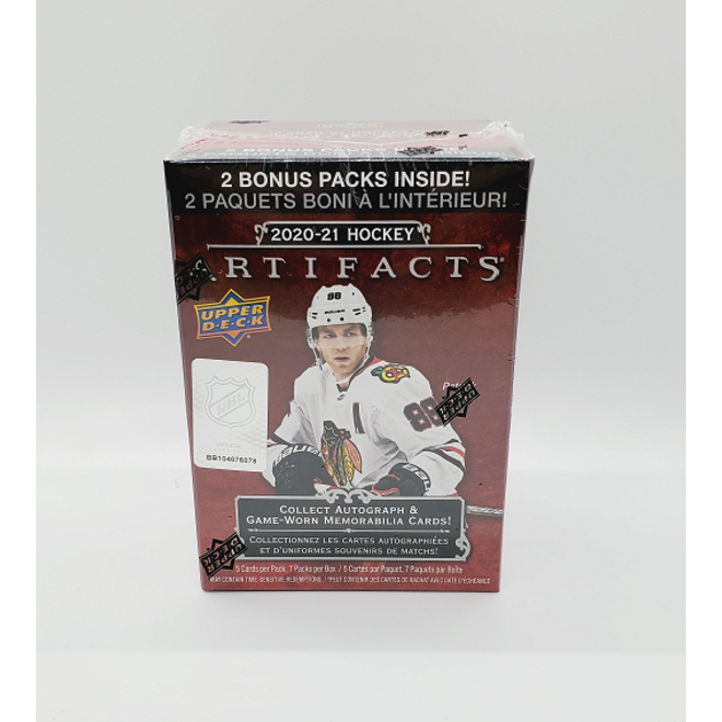 2020-21 Upper Deck Artifacts Hockey Blaster Box