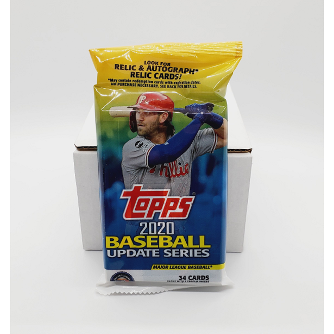 2020 Topps Update Series Baseball Fat Pack