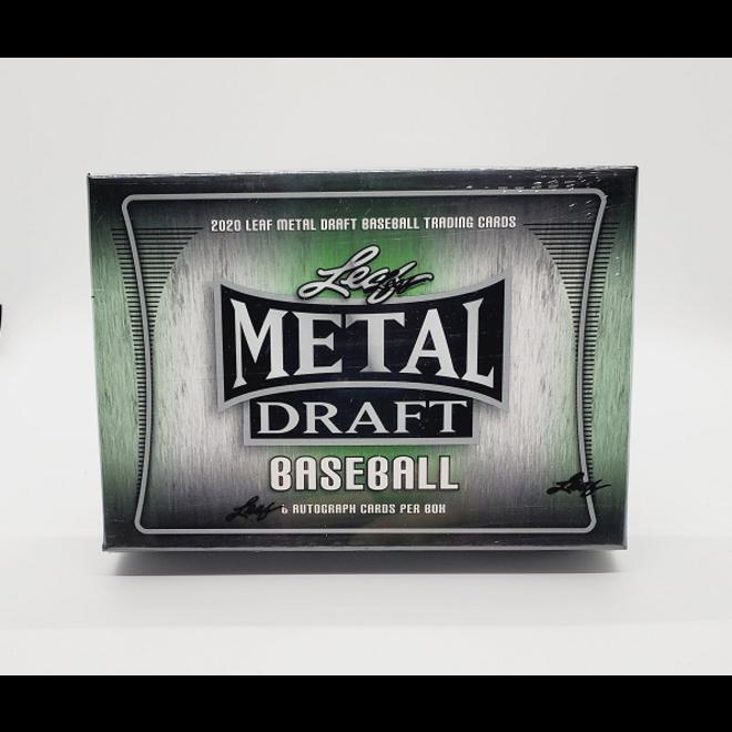2020 Leaf Metal Draft Baseball Hobby Box
