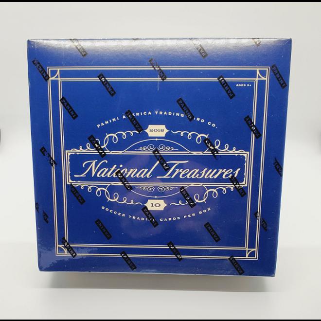 2018-19 Panini National Treasures Soccer Hobby Box