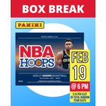 Panini America Basketball Break 2020-21 Hoops Basketball - 1 Random Team Slot