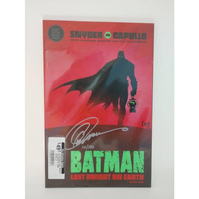 Df Batman Last Knight On Earth #1 Sgn Capullo