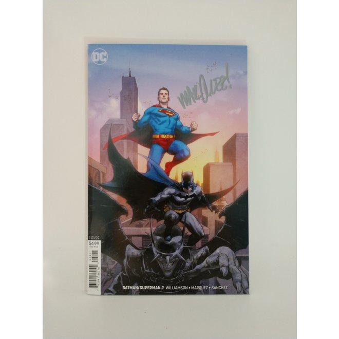 Batman vs Superman #2, Marquez signed, variant cover