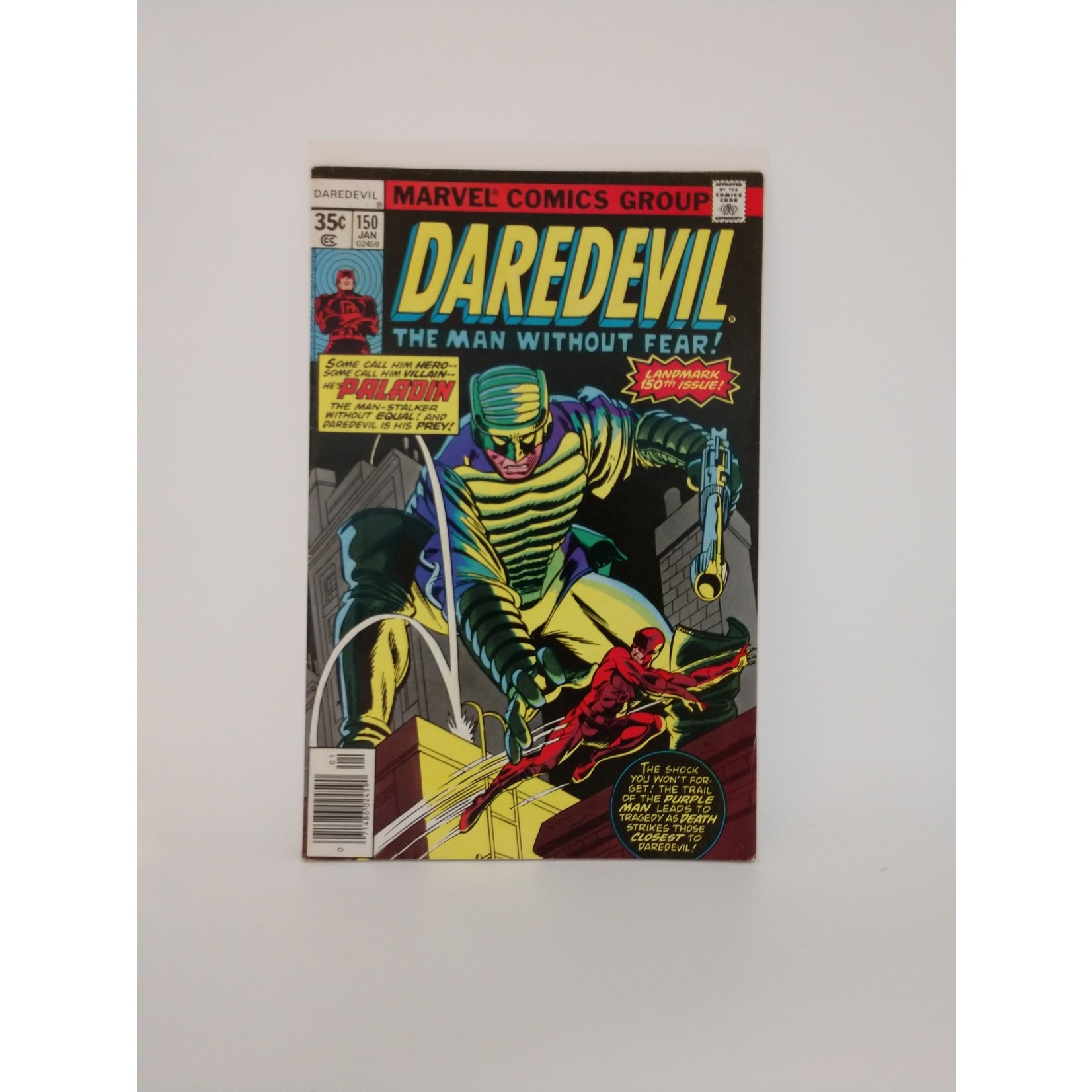 Marvel Comics Daredevil #150 First Appearance of Paladin