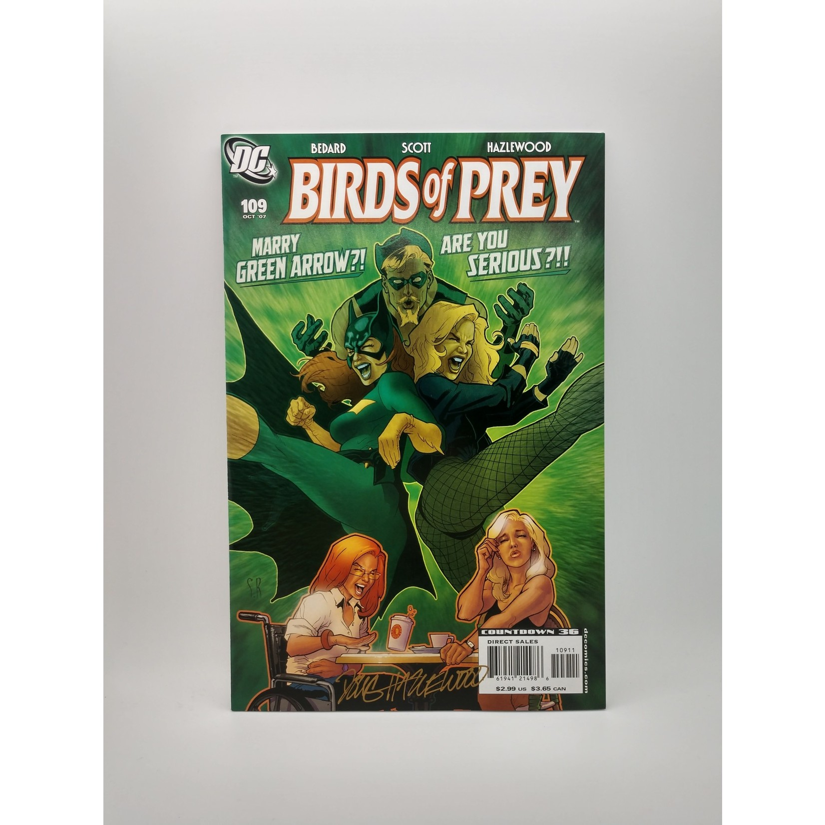 DC COMICS Birds Of Prey #109